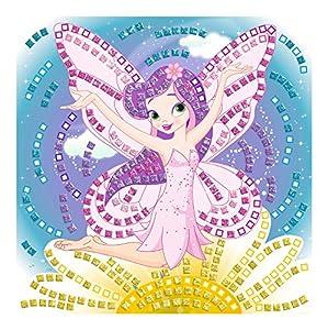 Ursus 8420003-Musgo Goma Mosaico de Marfil con Glitter, 434Piezas, Multicolor