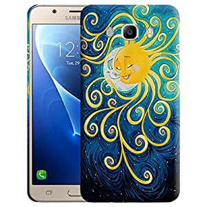 Theskinmantra Sun n moon Back cover for Samsung Galaxy J5 (2016 Edition)
