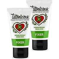 Tattoolicious DOUBLE FIXER - Crema lenitiva per tatuaggio appena eseguito, con Principi Attivi Bio dalle proprietà…