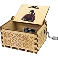Zesta Wooden Hand Cranked Collectible Engraved Money Heist Music Box (Berlin)