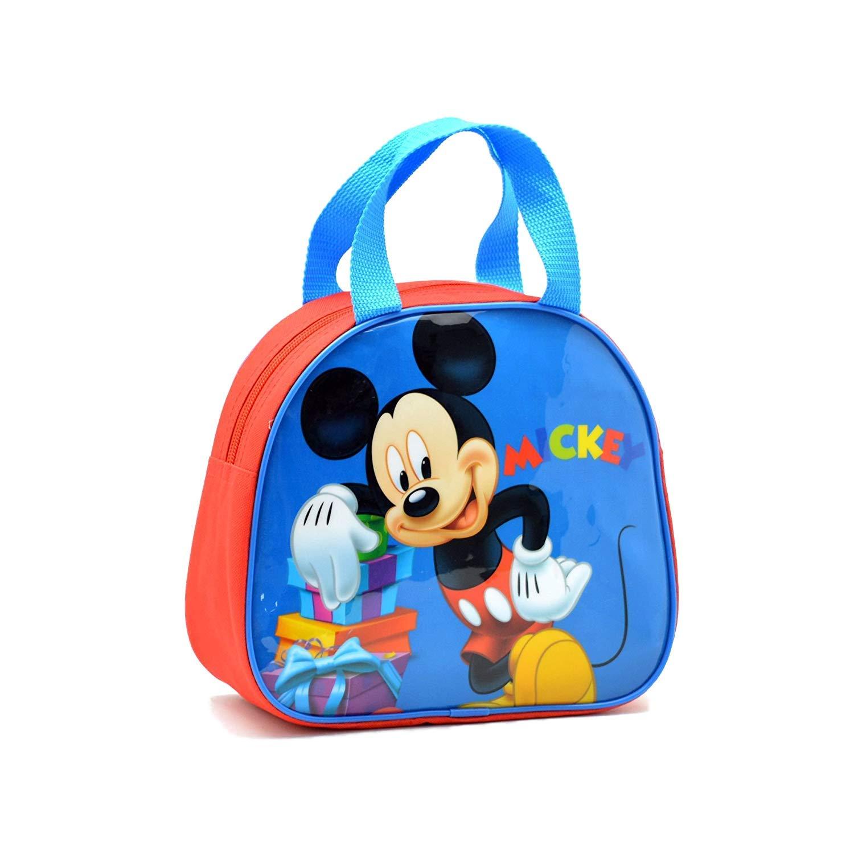 Mickey Mouse, BOLSO ALTO CON ASAS MICKEY Niños unisex, Multicolor, 20 x 8 x 23