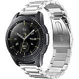 Fintie Metalen Schakel Bandje Voor Samsung Galaxy Watch 42mm/Active 2/Activer/Gear Sport/Gear S2 Classic Smartwatch, Premium