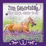 Glückwunschkarte SHAKE-Card Geburtstagskarte mit Pferd 15,5x15,5 cm 55-2009
