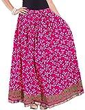 Decot Women's Cotton Skirt (SKT342__Multi_Free Size)
