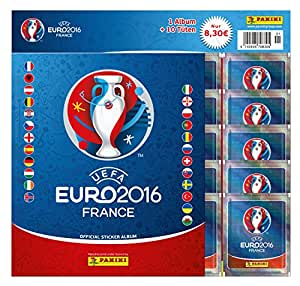 Euro 2016 France Sticker Starter-Set