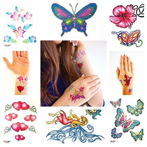 set-tatuaggii-con-brillantini-per-ragazze-con-50-tatuaggi-temporanei-per-bambine
