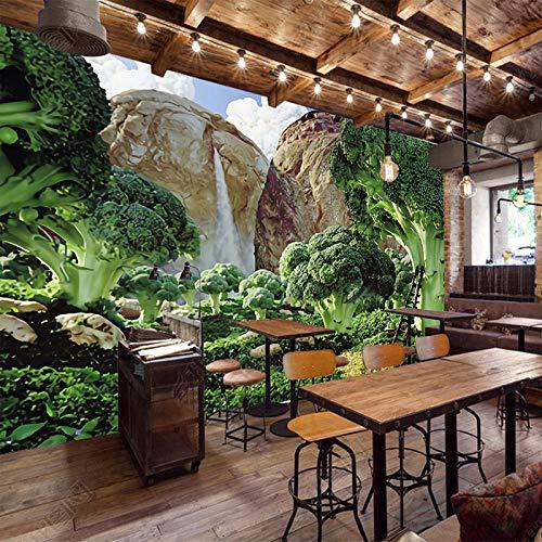 Fototapete Gemüsegarten Moderne Wanddeko Design Tapete Wandtapete Wand Dekoratio TV Hintergrundwand 300x210 cm (Wwe-uhr)