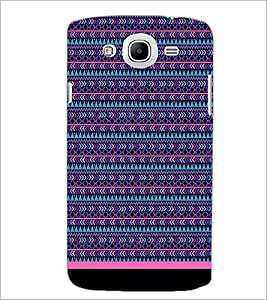 PrintDhaba Tribal Pattern D-1735 Back Case Cover for SAMSUNG GALAXY MEGA 5.8 (Multi-Coloured)
