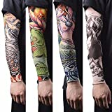 #10: Rapid® Driving UV Sun Protection Tattoo Arm Sleeves for Dust and Pollution Protection Pack Of 4