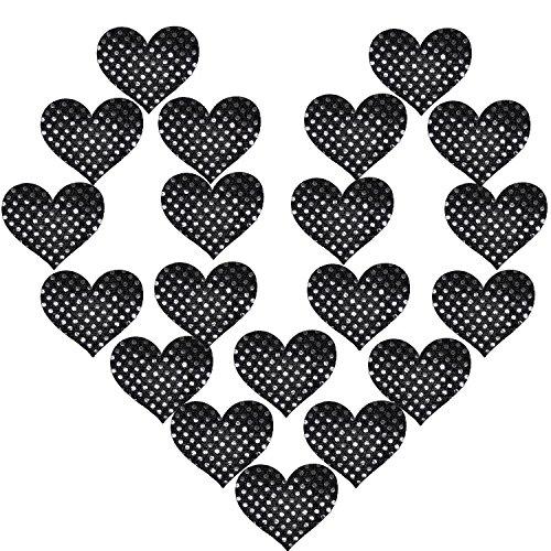 Design Nippel Abdeckung Satin Pasties Einweg Brust Blütenblätter (Machen Paar Bh Kostüm)