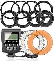 Meike Fc110 Led Makro Ring Flaş, Canon, Nikon, Pentax, Olympus Uyumlu
