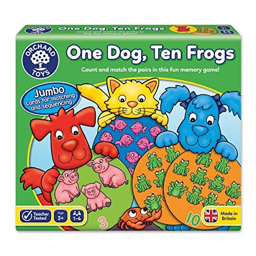 Orchard Toys One Dog Juego de 10 Ranas