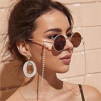 Bohend Facile Perles Chaîne de lunettes de soleil Or Chaîne de masque facial Chaîne de lunettes Lunettes Accessoires…