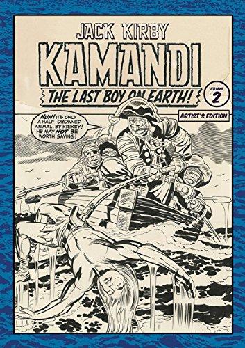 JACK KIRBY KAMANDI ARTIST ED HC 02