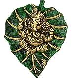 #6: Rajkruti White Metal Ganesha , ganesh , wall Hanging , Show Pieces , Decorative Gifts , Home Decor Showpiecs