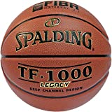 Spalding Basketball Ball Tf1000 Legacy Fiba Ball, orange, 6, 3001504010016