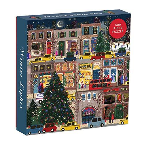 Joy Laforme Winter Lights 500 Piece Puzzle (Jigsaw Puzzle) por Galison