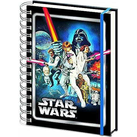 Star Wars nueva esperanza A4 cuaderno de tapa dura