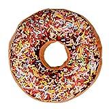ZARU Doughnut förmigen Ring Plüsch-weiche Neuheit Art-Kissen-Kissen (B)