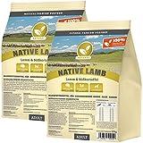 NATURAL | Native Lamb | 2 x 15 kg | Lamm + Süßkartoffel | getreidefreies Hundefutter | Trockenfutter für alle Hunderassen | viel frisches Fleisch | artgerecht & besonders gut verträglich
