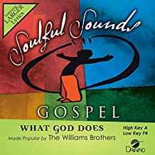 What God Does [Accompaniment/Performance Track]