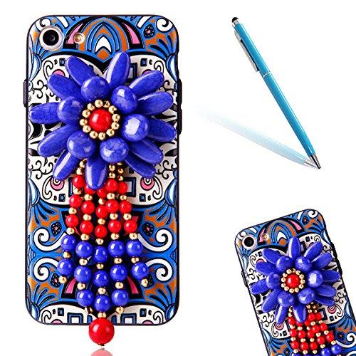 """iPhone 6sPlus Hülle, iPhone 6Plus Handytasche CLTPY Premium Weich Silikon Case, Luxury Bunt Vintage Jewelry Handmade Schale Etui für 5.5"""" Apple iPhone 6Plus/6sPlus (Nicht iPhone 6/6s) + 1 x Stift - Re Retro Totem 5"""