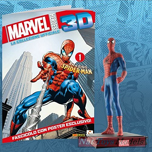 Eaglemoss Marvel Heroes 3D Amazing Spider Man Resin Figure Collection +fas