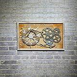 Swdg Fluch der Karibik amerikanische Holz Anker ruder Gemälde Bettwäsche Bügeleisen Wand dreidimensionale Bar, die - 90 * 3,5 * 55 cm
