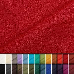 holmar tissu en lin au m tre pr lav 20 couleurs. Black Bedroom Furniture Sets. Home Design Ideas
