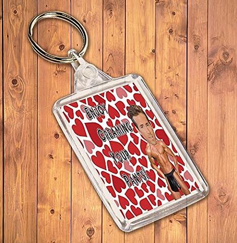Funny/Rude Geschenk Sexy Hunk Schlüsselanhänger–für die Ryan Reynolds Admirer
