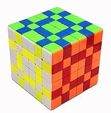 ZAOZINIU- Giocattoli educativi lisci specifici del gioco per studenti di Rubik's Cube a sei ordini 6.8 * 6.8 * 6.8cm