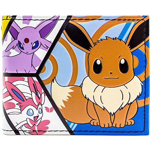 ions-Panel Blau Portemonnaie Geldbörse (Eevee Pokemon-kostüm)