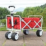 Ali Lamps@ Carrello a mano pieghevole del carrello a mano piccolo/carrello di stoccaggio di pesca dei bagagli del carrello di acquisto/carrello di movimentazione/carico 68 chilogrammi