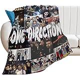 Harry Styles Manta de Tiro súper Suave y cálida Ultra-One Direction Four Soft Micro Fleece Manta Sofá Manta de Tiro de Regazo
