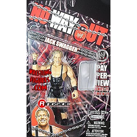 WWE Wrestling PPV Pay Per View Series 21 Action Figure Jack Swagger by Jakks Pacific