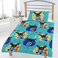 Bing Bunny Bedtime Junior Copripiumino Set, Multi