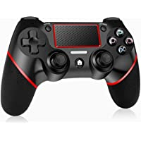 GEEMEE Wireless Controller für PS-4, Bluetooth Game Controller Gamepad Joypad Touchpanel Spielbrett mit Dual Vibration…