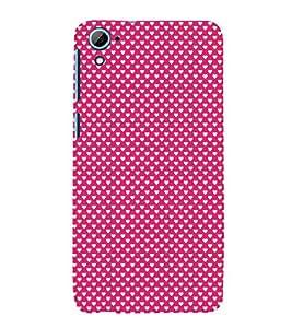 Valentines Day pattern 3D Hard Polycarbonate Designer Back Case Cover for HTC Desire 826::HTC Desire 826 Dual Sim::HTC Desire 826 DS (GSM + CDMA)