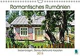 Romantisches Rumänien (Wandkalender 2018 DIN A4 quer): Rumänien: Siebenbürgen, Donau-Delta und Karpaten (Monatskalender, 14 Seiten ) (CALVENDO Orte) [Kalender] [Apr 13, 2017] CALVENDO, k.A -