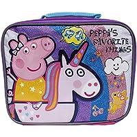 Preisvergleich für Peppa Pig Pink Peppa 's Favorite Things Mädchen Insulated School Lunch Bag