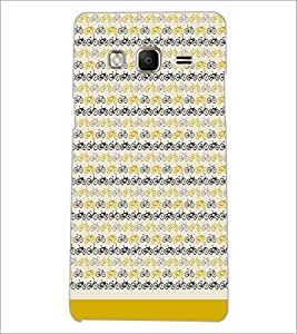 PrintDhaba Cycle Pattern D-1478 Back Case Cover for SAMSUNG Z3 (Multi-Coloured)