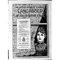 Panno 1887 dei Ciechi di Finestra di Lancaster della Pubblicità