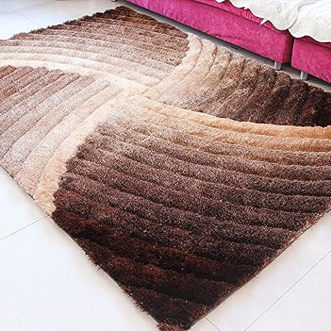 New day-Tappeto di soggiorno tappeto Corea filo 3D soggiorno tavolo da tè , 3d gradient color , 160*230cm