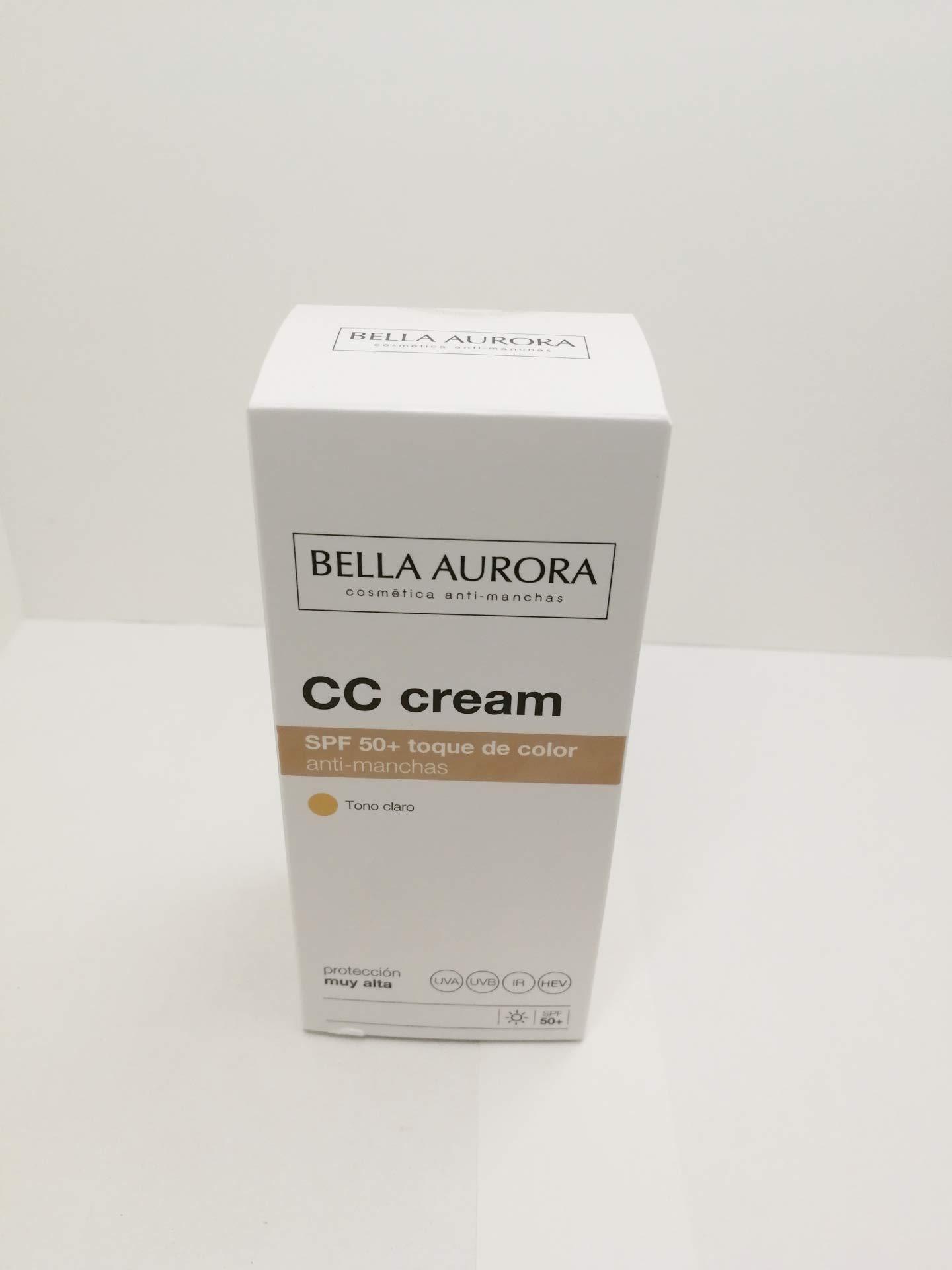 Bella Aurora Crema Facial Con Color Y Protección Solar 50 Anti Manchas Para Piel Normal O Seca Mejor Crema