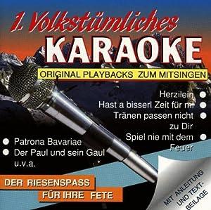 Karaoke - 1.Volkstümliches
