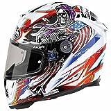 Airoh Helmet T600Grim White dekor Talla:XS(53/54)