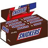 Snickers Schokoriegel | Erdnüsse, Karamell | 32 Riegel in einer Box (32 x 50 g)