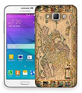 Snoogg World Map Designer Protective Back Case Cover For Samsung Galaxy Grand Max G7200