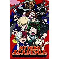 Trends International My Hero Academia Key Art 2 Anime Cool Wall Decor Art Print Poster 22x34