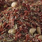 Pesto Rosso, PREMIUM-Mischung, 100g, mit Pinienkernen, für Dips, Pesto, zum Würzen von Nudelgerichten & Soßen - Bremer Gewürzhandel